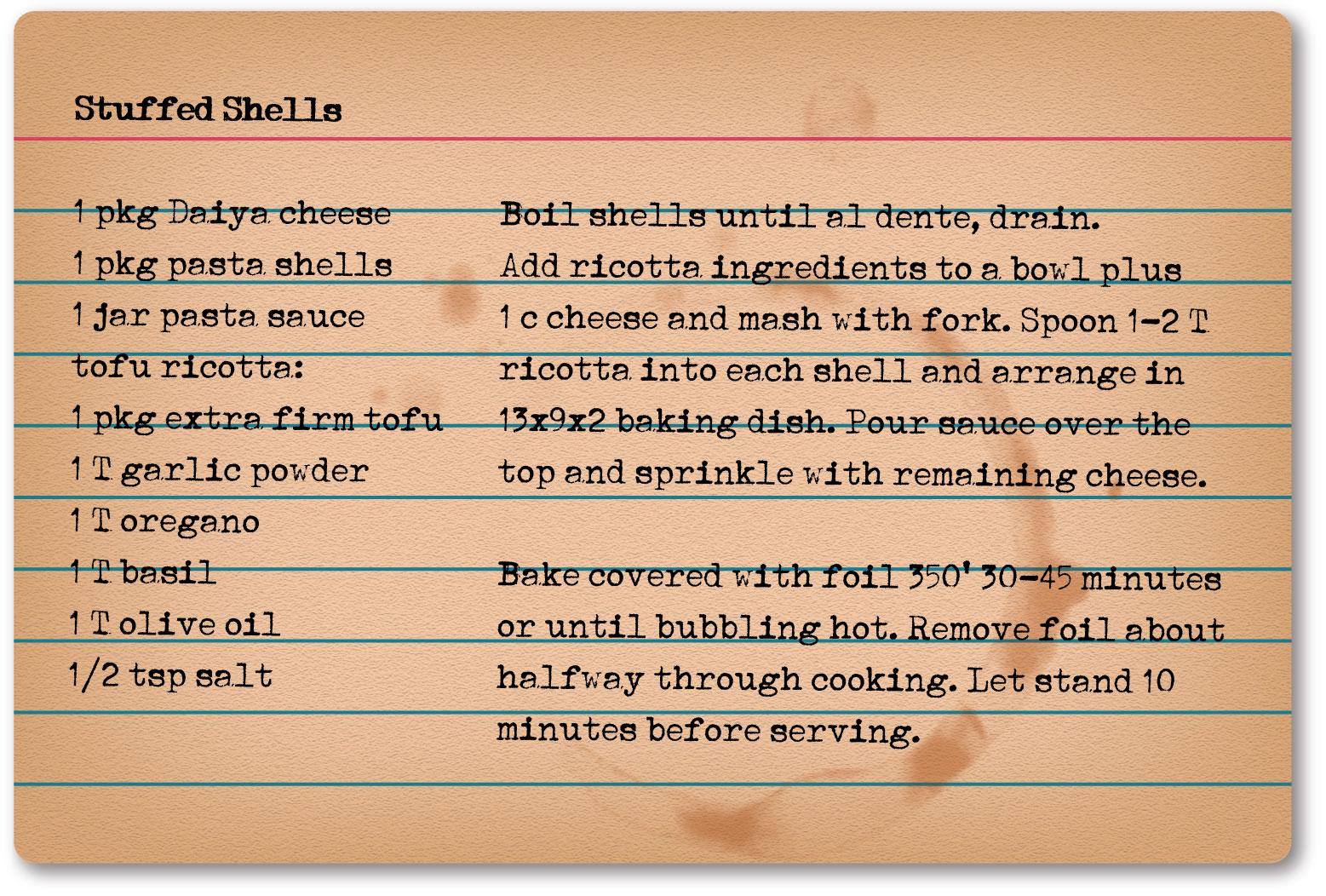 stuffedShells